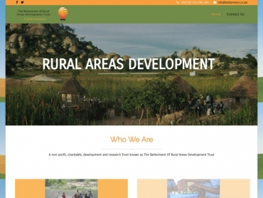 Betterment of Rural Areas Development